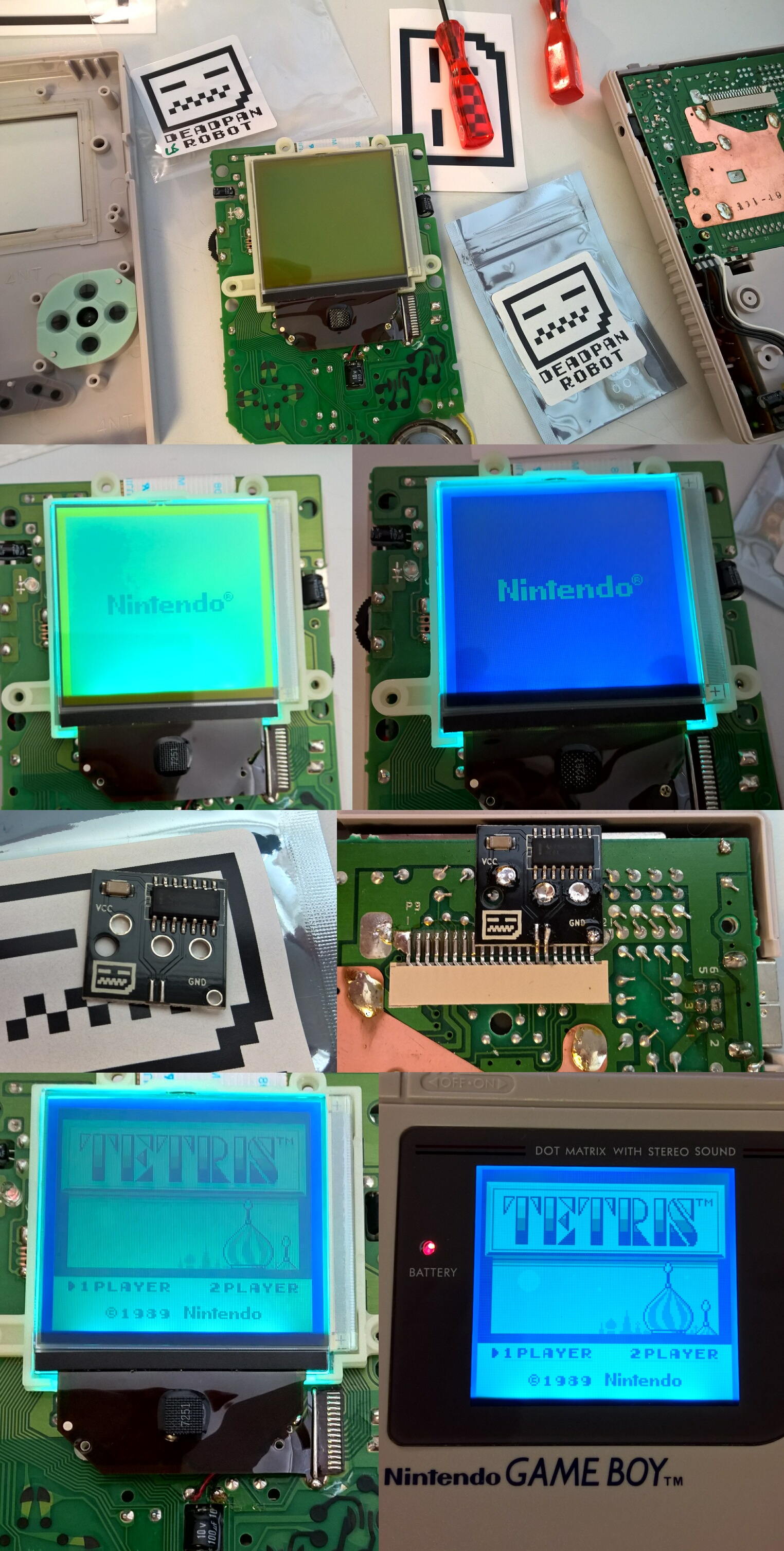 GameBoy DMG Backlight + bivert mod – | - UTILIZATOR -